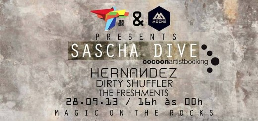 Tender Events & Moche Presents Sascha Dive